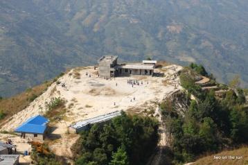 Die Klinik von oben