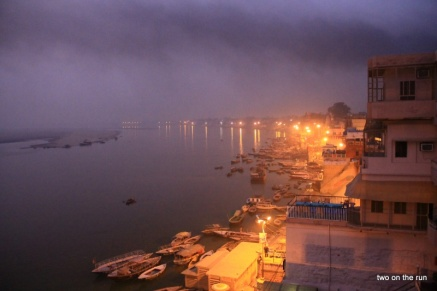 Varanasi - Blick auf den Ganges
