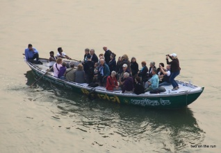 Auf dem Ganges