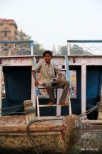 Bootsjunge in Varanasi