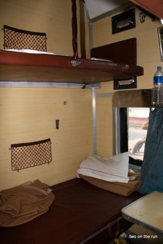 Im Zug nach Delhi