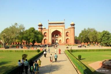 Südgate zum Taj Mahal