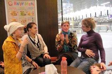 Erste Gespräche, Berlin Hbf