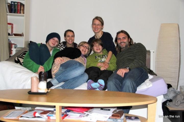 Auf der Couch in Berlin