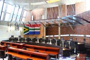 Johannesburg - im Verfassungsgericht