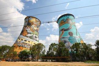 Einst Kraftwerk heute Bungeeabsprunganlage - Soweto