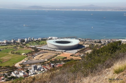 Stadion in Cape Town
