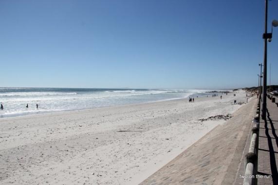 am später Nachmittag ging es hier nochmals ins Meer, saukalt