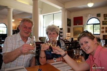 Weinprobe mit Hansi und Evi