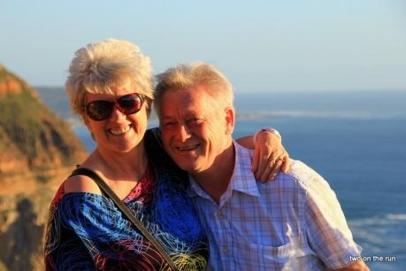 Hansi und Evi am Chapmens Peak