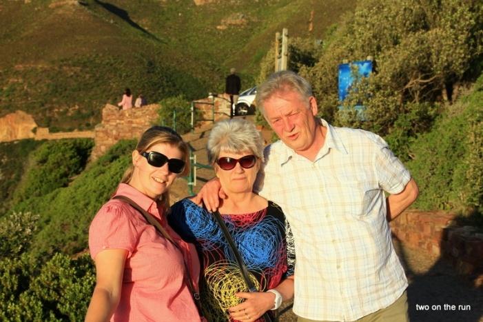 Familie Schiemenz am Chapmens Peak