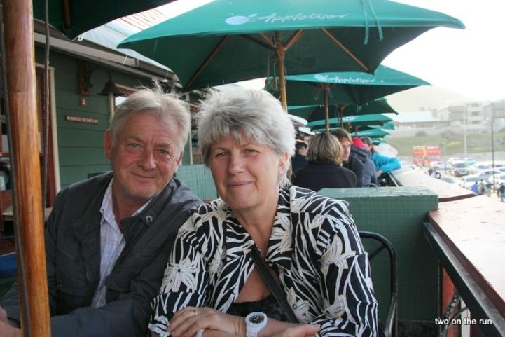 Hansi und Evi in Hout Bay
