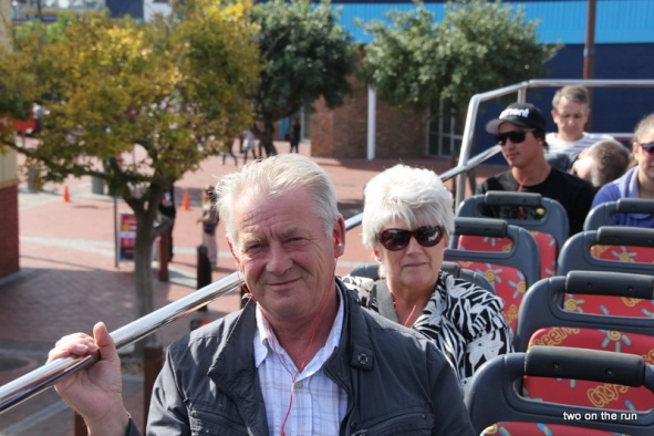 Im Cityhopper Bus