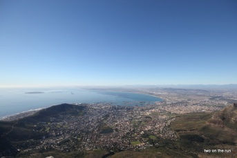 Kapstadt vom Tafelberg aus