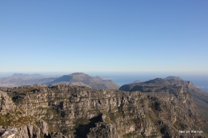 Blick übern Tafelberg