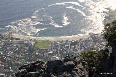 Bilck auf Camps Bay vom Tafelberg aus