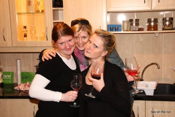 Die drei Damen vom Grill