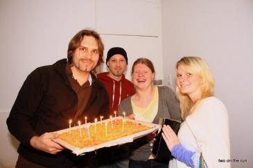 Kerzenständer zum Geburtstag bekommen