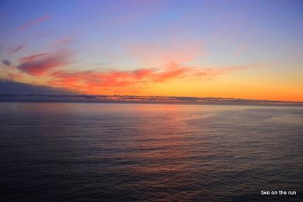 Sonnenuntergang am Chapmans Peak