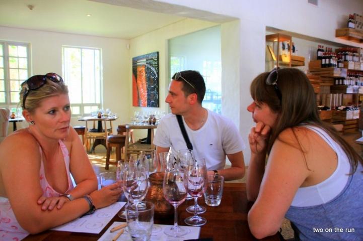 Wein Tasting mit Anja und Stefan