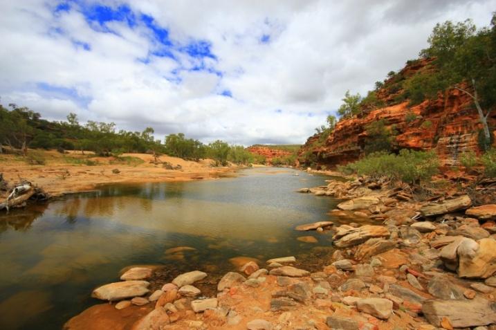 Canyon am Murchison River
