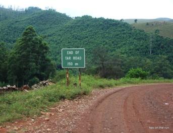 Swaziland - Wo war nochmal der Anfang der Straße?