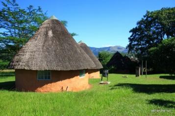 Swaziland - Häuschen von Draußen