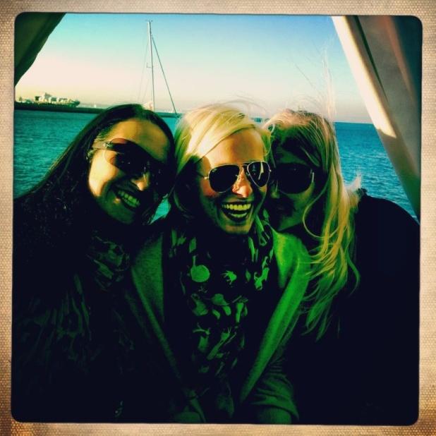 Steffi, Janni und Angie