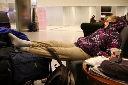 Übernachtung auf dem Flughafen Istanbul