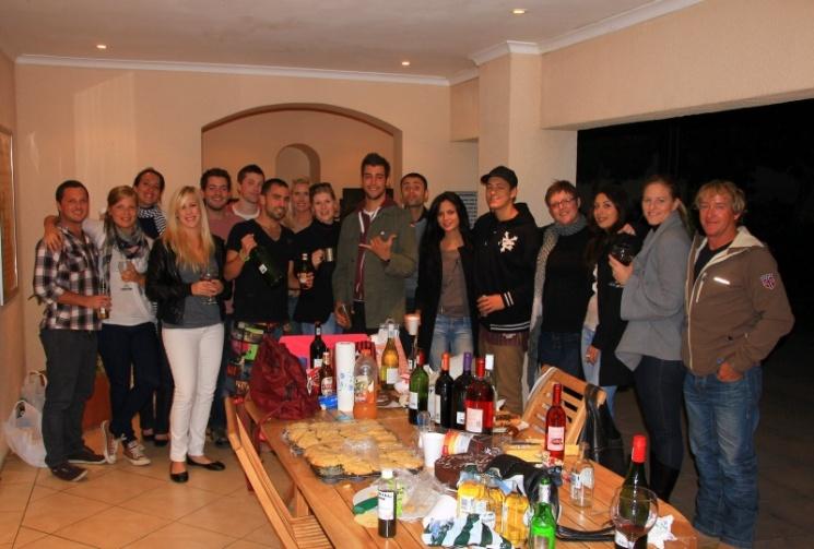 Party mit Angies Arbeitskollegen