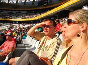 Mit Cosi und Lutz beim Africa Cup