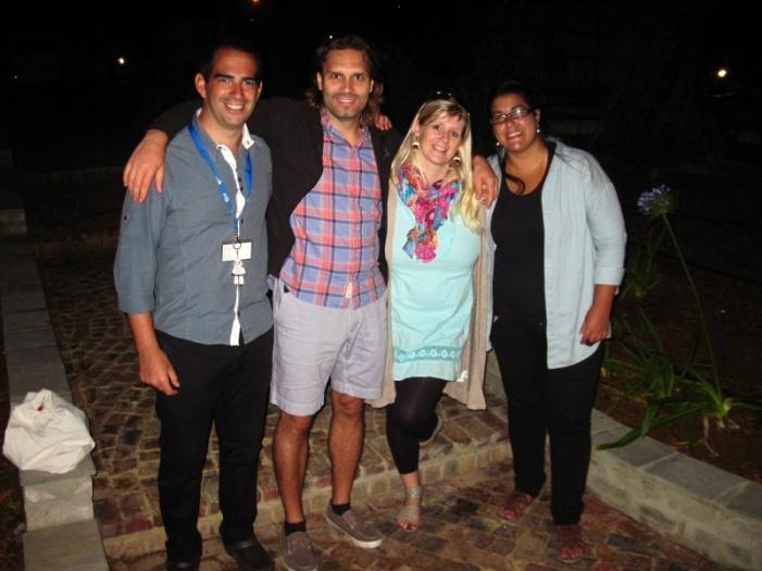 Gäste aus Uruguay