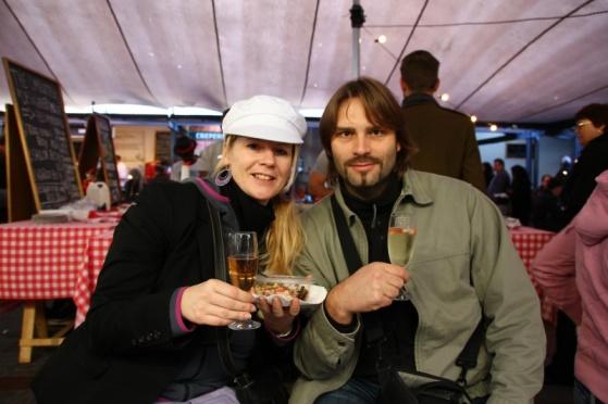 Angie und Karl Napp auf der Biscuit Mill