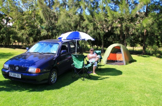 Campen in Montagu