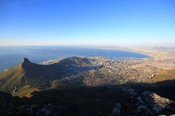 Kapstadt vom Tafelberg