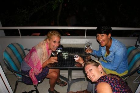 Balkonien - Janni, Madeleine, Angie