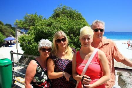 Familie Schiemenz auf Besuch