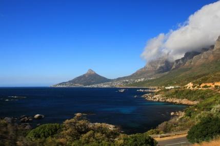 Küstenstraße in Richtung Kapstadt