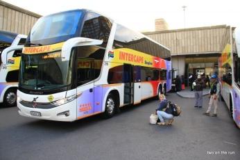Abfahrt in Kapstadt