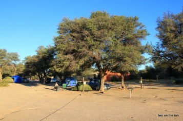 Im Kgalagadi Transfrontier Park - Mata Mata Camp