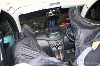 Im Kgalagadi Transfrontier Park - Autokino