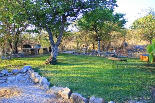 Zeltplatz vor dem Etosha