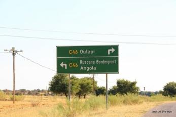 Kurz vor Angola