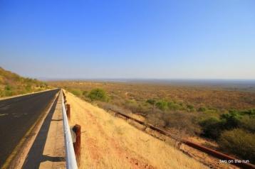 Ruacana mit Blick nach Angola