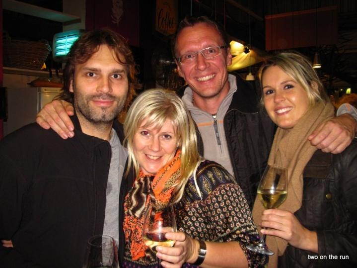 Hout Bay Markt mit Cosima und Lutz
