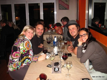 Abendessen mit Steffi, Rich und Jerry