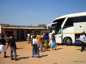 Raststätte auf dem Weg Nach Lusaka