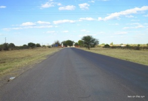 Grenzübergang nach Botswana