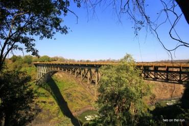 Victoria Falls - Brücke nach Zambia