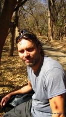 Victoria Falls - Pudelnass nach der Besichtigung